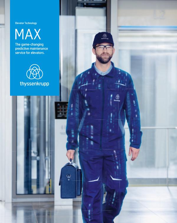 MAX - Predictive maintenance solution - thyssenkrupp Elevator